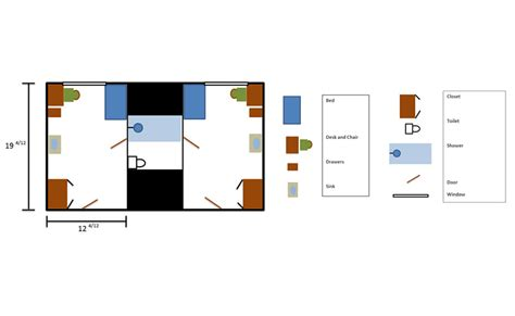 shared bathroom floor plans parsons hall saint martin s university