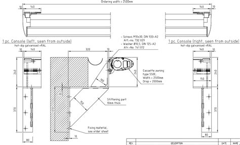 Awning Construction Details by Patio Awning Design And Installation Corner