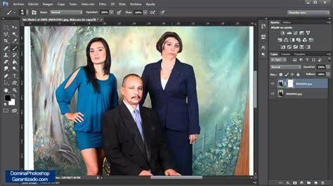 varias imagenes en una sola photoshop como combinar imagenes en photoshop tutorial de