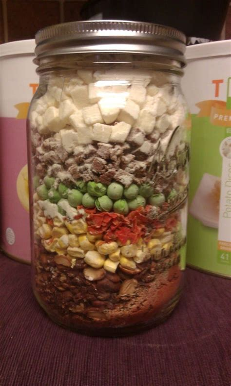 meals in a jar beef stew meal in a jar food dehydrating how to s