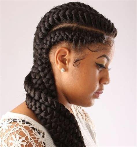 goddess one french braid 60 inspiring exles of goddess braids goddess braids