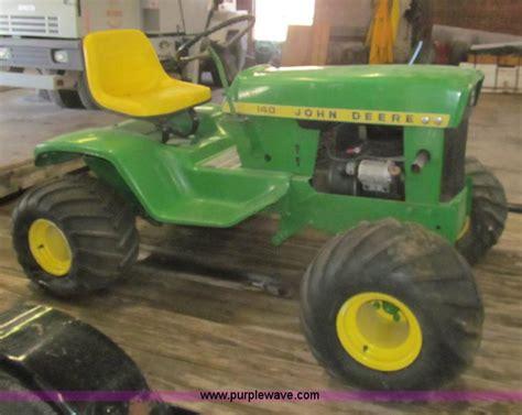 peerless tires garden city ks 1972 deere 140 lawn tractor item aq9867 sold may