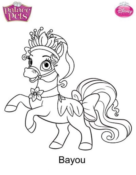 Kids N Fun De 36 Ausmalbilder Von Princess Palace Pets Princess Pets Coloring Pages