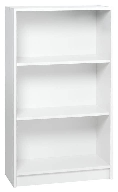 20 Bookcase Boekenkast Horsens 3 Schappen Breed Wit Jysk