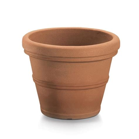 Classic Planters by Shop Dotchi 20 In X 16 14 In Aged Terracota Plastic