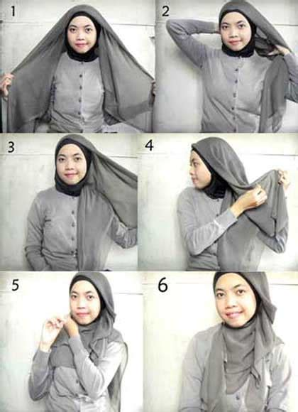 Cara Membuat Kerudung tips cantik memakai kerudung dan jilbab muslim terbaru