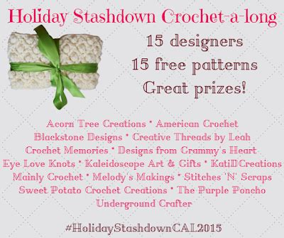 pattern review weekend 2015 eyeloveknots holiday stashdown cal 2015