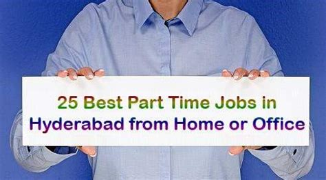 Part Time For Mba Graduates In Hyderabad by Part Time At Home In Hyderabad Dizijobs
