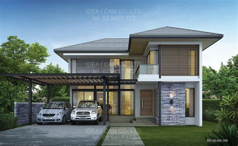 2 storey modern house designs and floor plans modern 2 storey house plans with garage search