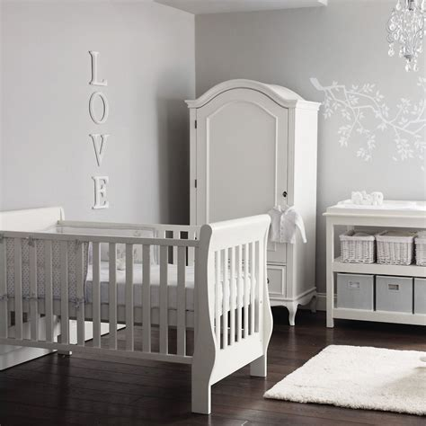 white nursery armoire elegant white and grey nursery the white company love