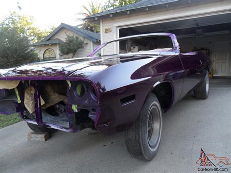 dodge challenger convertible project car