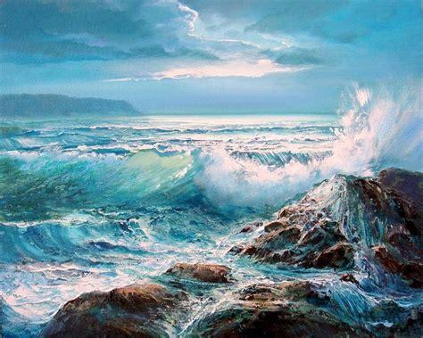 imagenes para pintar oleo paisajes marinos al oleo landscapes in oil