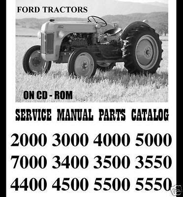 Ford 4000 Tractor Manual Owner S Guide To Business And