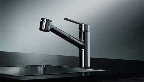 kwc luna kitchen faucet kwc 10 441 033 luna e kitchen faucet with pull out spray