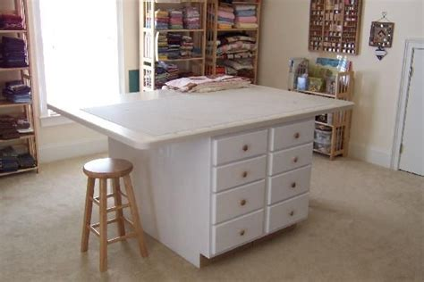 idea for quilt cutting table quilting studio ideas