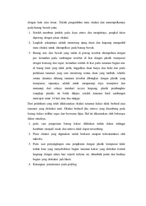 Pisau Okulasi Cangkok laporan praktikum pembiakan vegetatif okulasi grafting