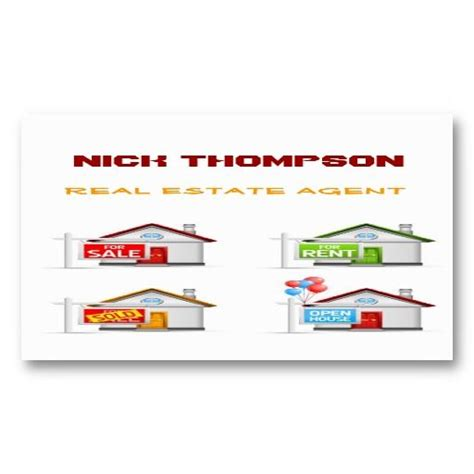 17 best images about real estate business cards on