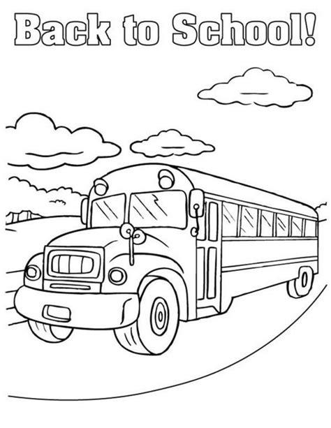 Gambar Mewarnai Bus Sekolah – Pintar Mewarnai