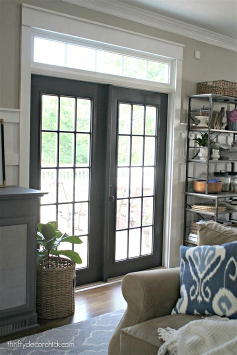 Interior Patio Doors Best 25 Black Doors Ideas On Diy