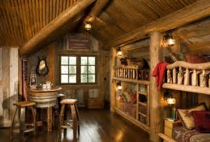 rustic log home decor rustic kids bedrooms 20 creative cozy design ideas