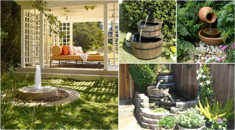 backyard fountains ideas 17 awesome garden ideas you can for your