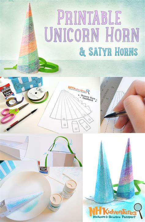 printable unicorn horn 17 best images about for mckenna on pinterest the horse