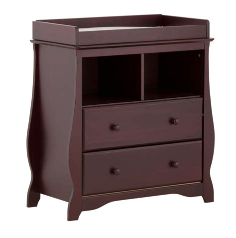 Storkcraft Changing Table Storkcraft Carrara 2 Drawer Changing Table