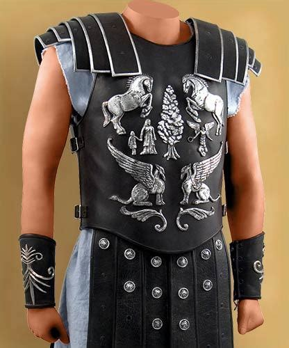 gladiator film costumes gladiator maximus final battle costume
