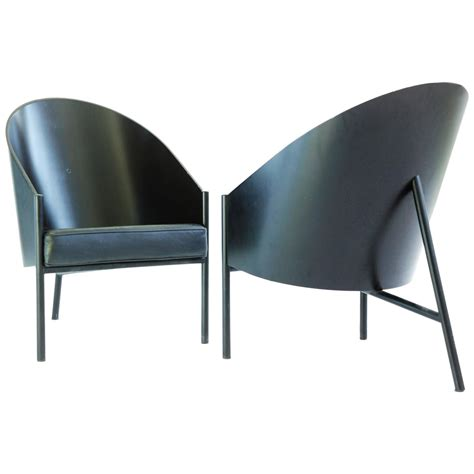 Lounge Chair Legs phillipe starck three leg lounge chairs for sale at 1stdibs