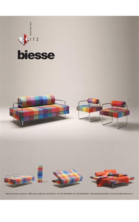 biesse arredamenti divano letto trasformabile design moderno mod blitz
