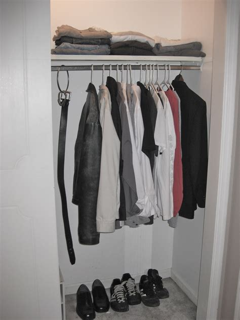 Minimalist Closet by Why I Don T Count Stuff And Why I Am Excited To Start