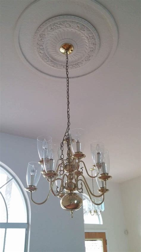 Chandelier Makeover Easy Chandelier Makeover Faith And Skies