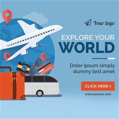 design banner tour tours travels banners by doto graphicriver