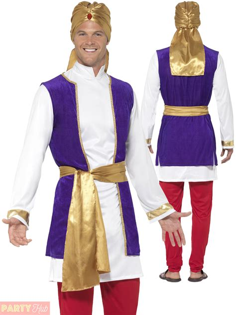 disney themed clothing for adults adults arabian prince costume mens bollywood aladdin fancy