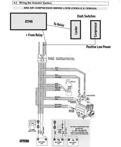 arb air compressor wiring diagram efcaviation