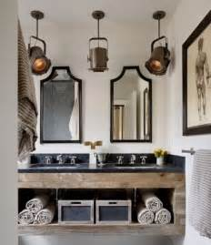 Unique Bathroom Lighting Ideas rustic bathroom lighting ideas 187 unique rustic bathroom lighting