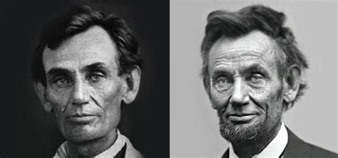 abraham lincoln before president before and after the war the dramatic aging of abraham