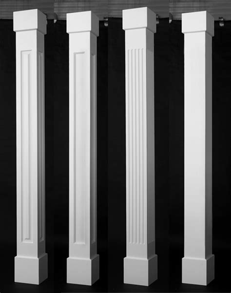 porch column wraps porch column wraps curb appeal products
