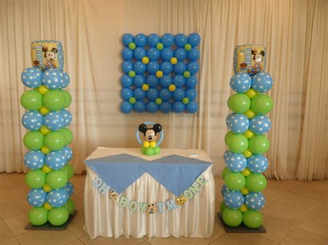 Birthday Decorations For Baby by Baby Mickey Decorations Best Baby Decoration