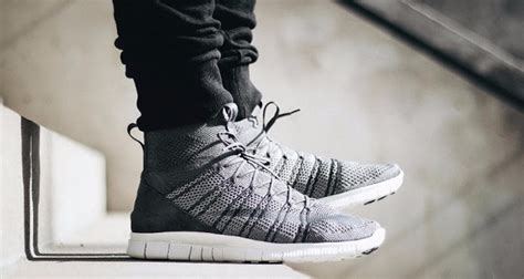 Helix Instinct Is A Virtue Grey M on images of the nike free flyknit mercurial wolf
