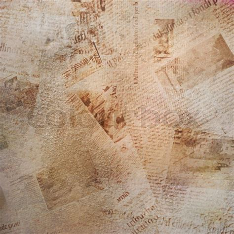 abstract newspaper wallpaper grunge abstract background with old torn newspaper stock