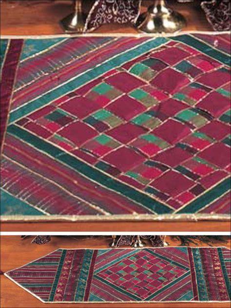 quilt patterns  beginners ribbon table runner