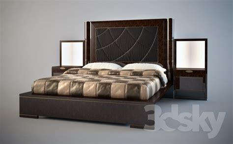 infinity bed 3d models bed bed infinity turri
