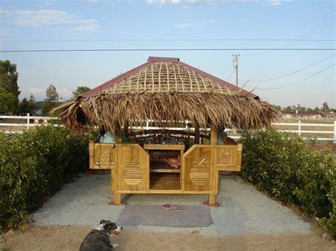 Tiki Hut Canada Bonadelle Ranchos Madera Ranchos Ca A Tiki Hut On