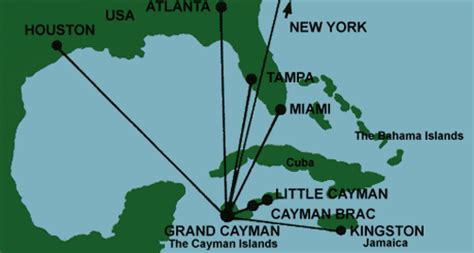houston to jamaica map about sunset cove resort on grand cayman island