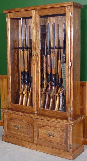 cherry gun cabinet plan rockler woodworking tools gun