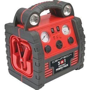 5 in 1 portable power pack w jump start air compressor power inverter usb port 689851257384 ebay