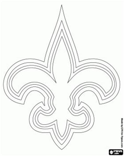 nfl saints coloring pages pinterest the world s catalog of ideas