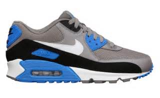 Nike air max 90 essential sport grey photo blue sole collector