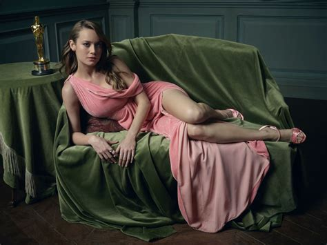Vanity Fair Portrait by Brie Larson 2016 Vanity Fair Oscar Portrait
